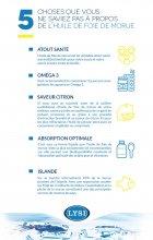 huile de foie de morue infographie