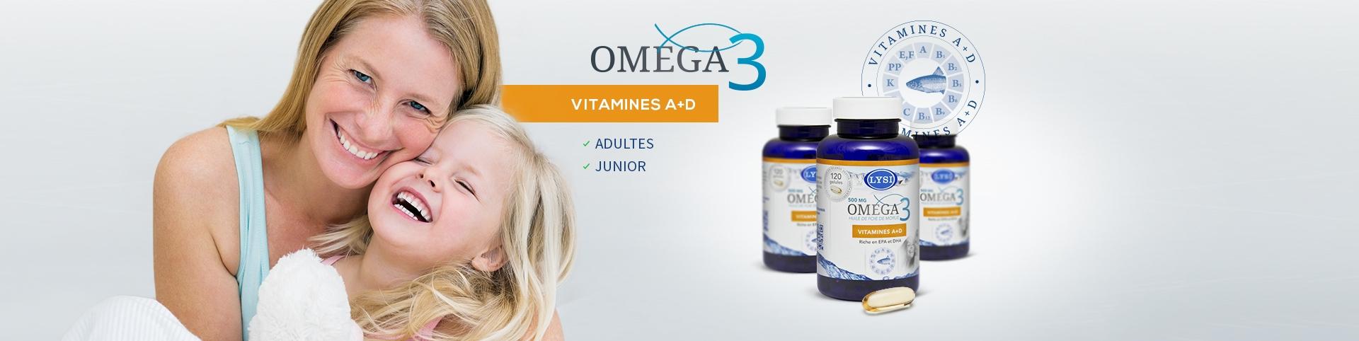Huile de foie de morue Omega 3 vitamine A et D