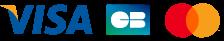 les logos de paiement